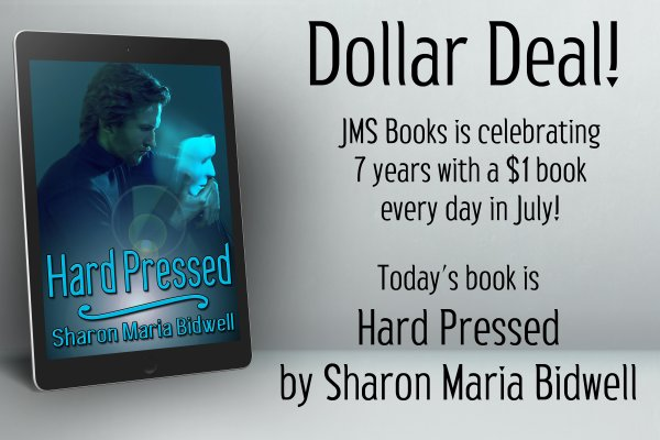 Hard Pressed by Sharon Maria Bidwell is $1 today only!
