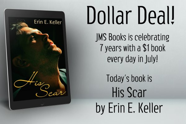 His Scar by Erin E. Keller is $1 today only!