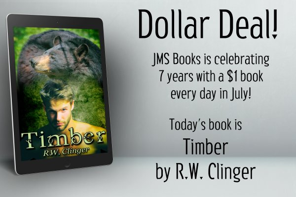 Timber by R.W. Clinger is $1 today only!