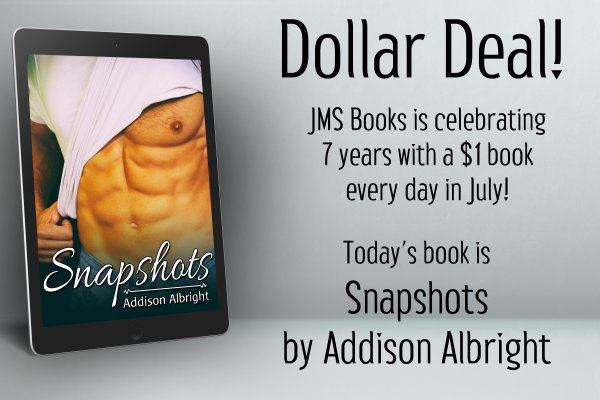 Snapshots by Addison Albright is $1 today only!