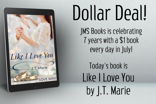 Like I Love You by J.T. Marie is $1 today only!