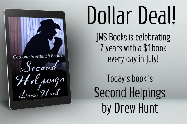 Cowboy Sandwich Book 2: Second Helpings by Drew Hunt is $1 today only!