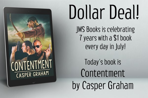 Contentment by Casper Graham is $1 today only!