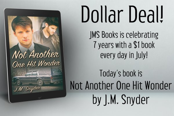 Not Another One Hit Wonder by J.M. Snyder is $1 today only!