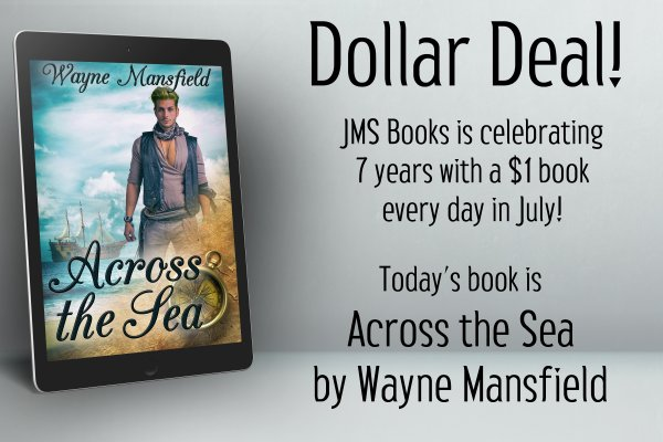 Across the Sea by Wayne Mansfield is $1 today only!