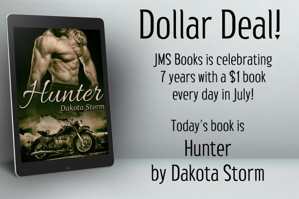 Hunter by Dakota Storm is $1 today only!
