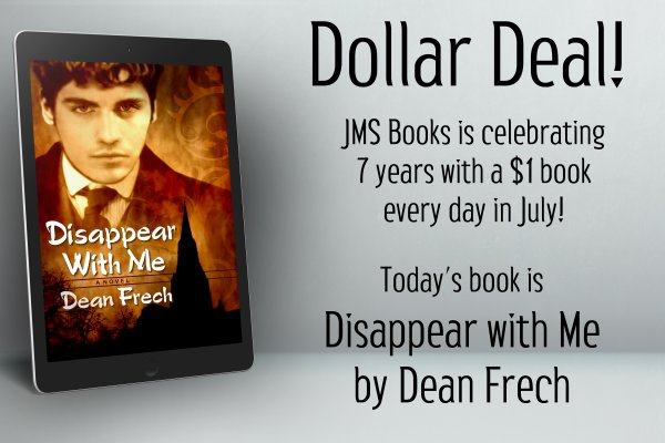 Disappear with Me by Dean Frech is $1 today only!