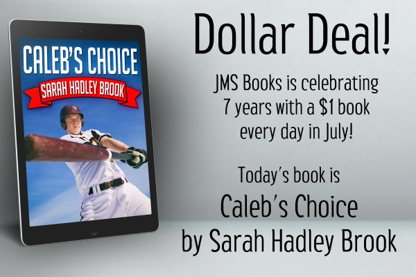 Caleb's Choice by Sarah Hadley Brook is $1 today only!